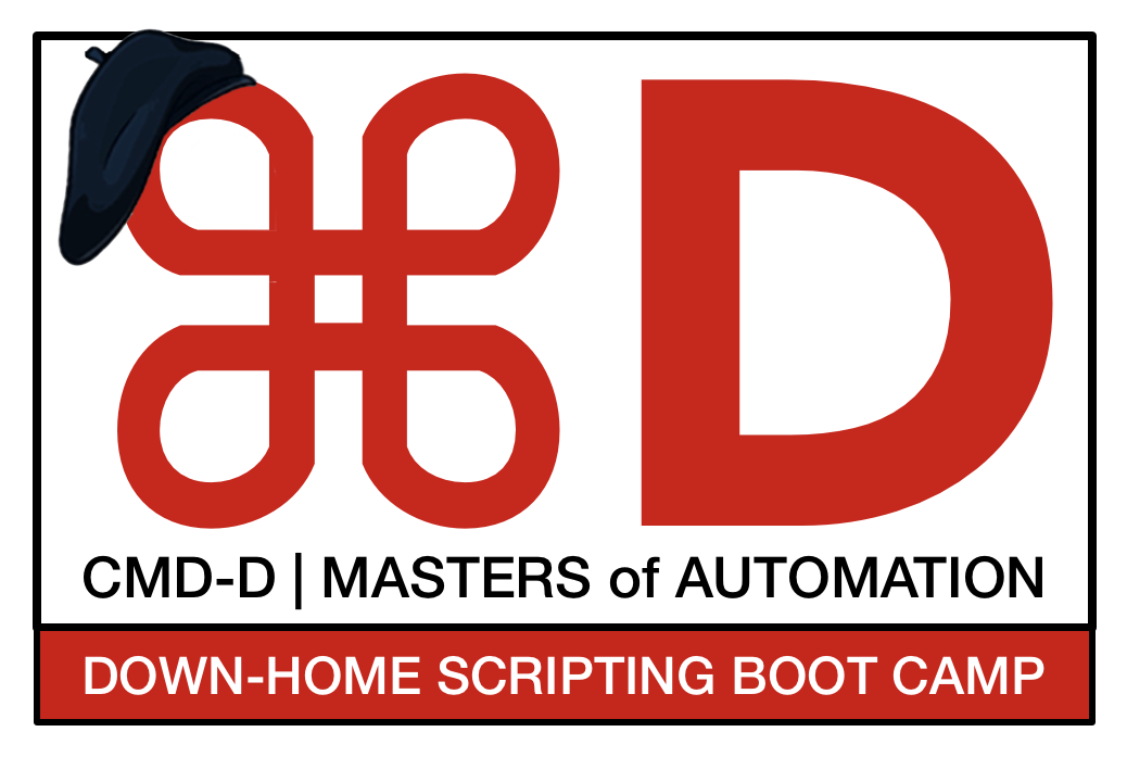 First-ever CMD-D|Down-Home Scripting Boot Camp Comes to Atlanta in Oct. Image